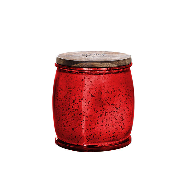 Wonderland Mercury Barrel Candle in Red