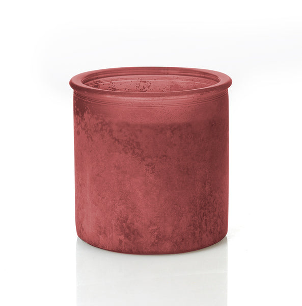 Pumpkin Please River Rock Candle in Red