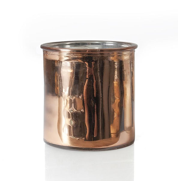 Compass Rock Star Candle in Rose Copper