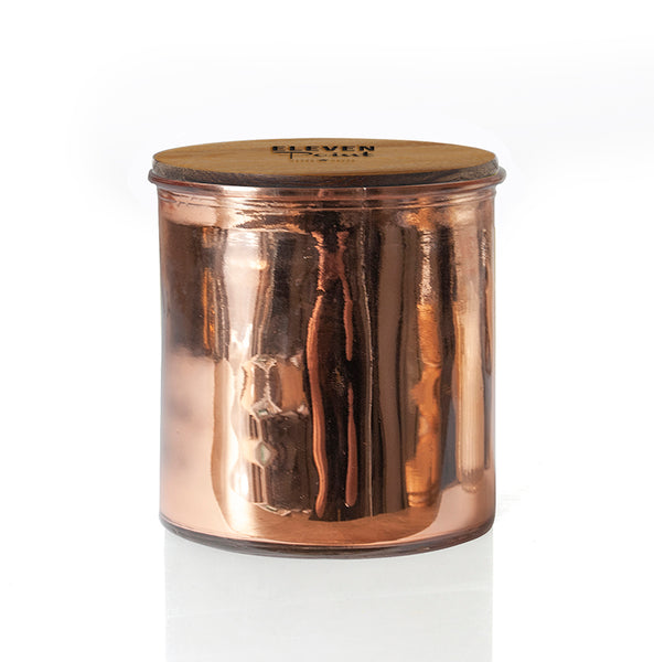 Canyon Rock Star Candle in Rose Copper