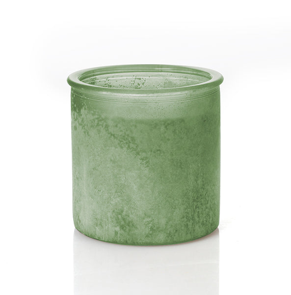 Morning Dew River Rock Candle in Sage
