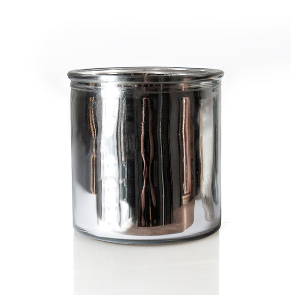 Tree Farm Rock Star Candle in Silver