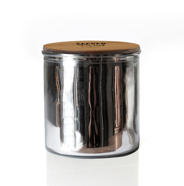 The Rock Star Candle in Silver