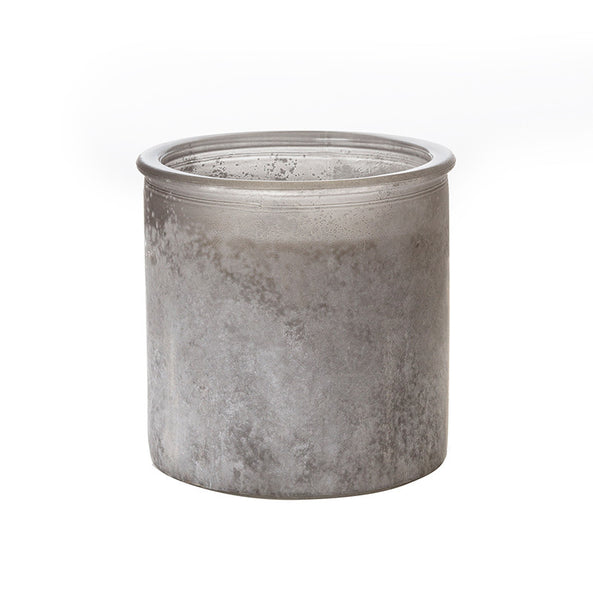 Autumn No. 60 River Rock Candle in Gray
