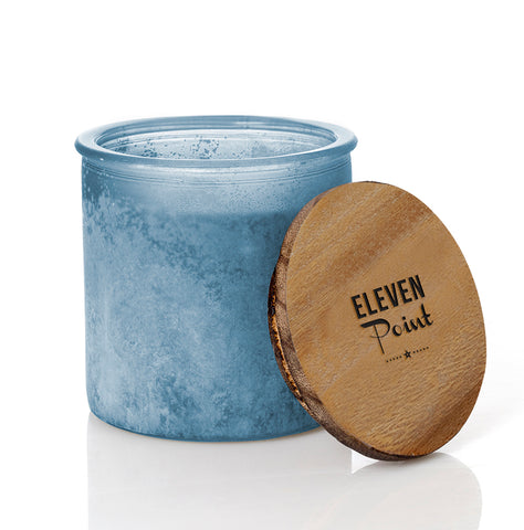 Arrow River Rock Candle in Denim