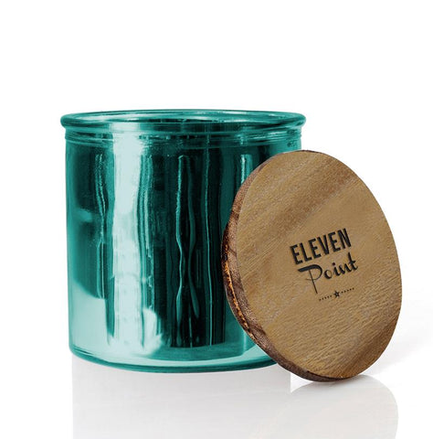 Tree Farm Rock Star Candle in Turquoise