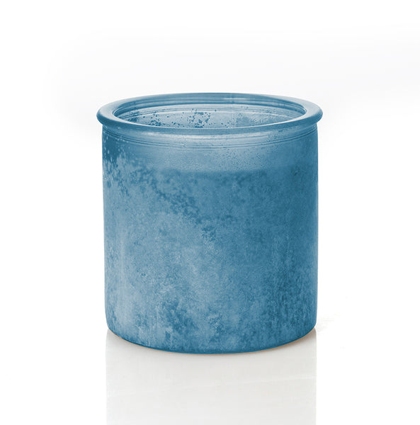 Wonderland River Rock Candle in Denim