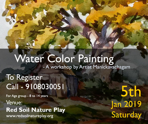 Water Color Painting Workshop