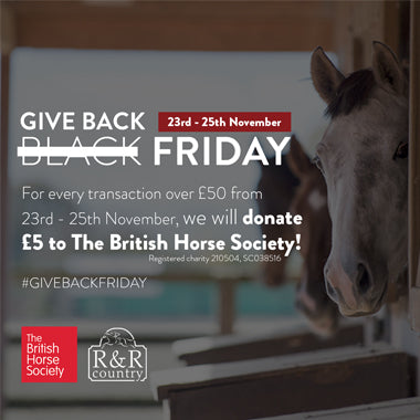 Give Back Friday - Raising money for the British Horse Society