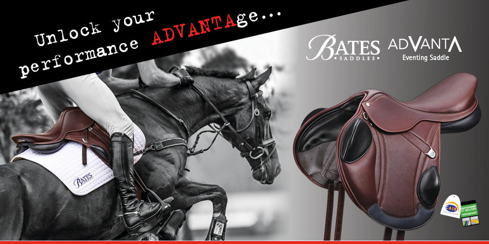 Bates Advanta Eventing Monoflap Saddle