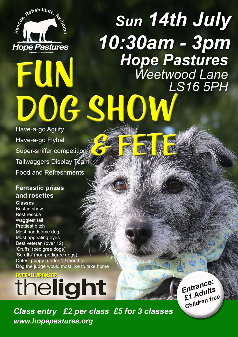 Hope pastures dog show