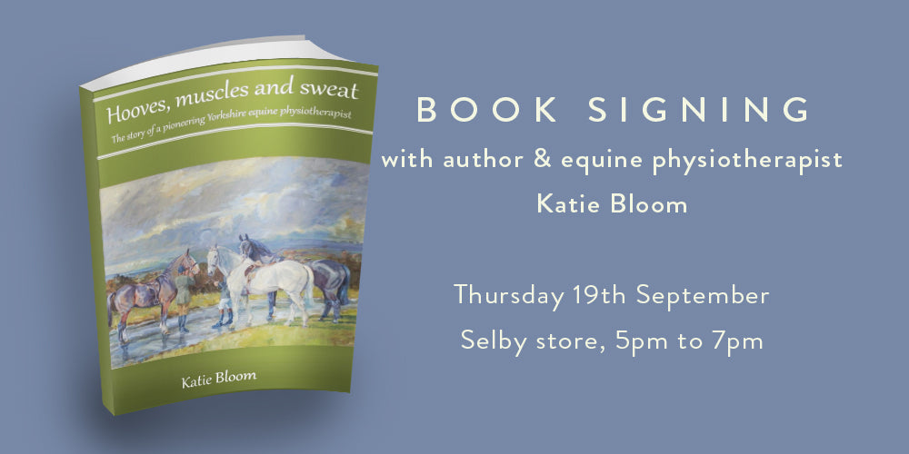 Book signing with Katie Bloom