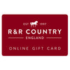 R&R Online Email Gift Card