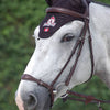 Dyon New English Collection Drop Crank Noseband Bridle - randrcountry