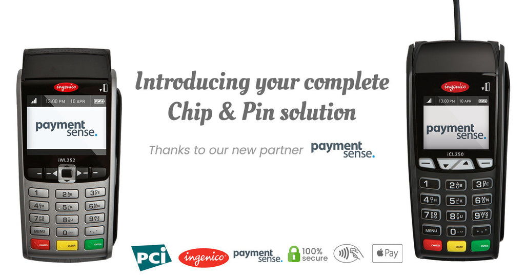 Introducing your complete Chip & Pin solution