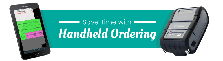 Save Time with Handheld Ordering