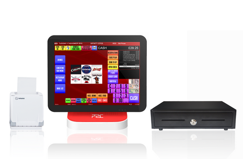 Infinity EPOS bundle with red P2C