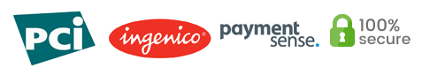 PCI, Ingenico, Paymentsense, completely secure
