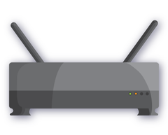 Internet access point