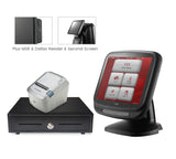 "*WEB ONLY DEAL* Anyshop 15"" complete EPOS system (with 12.1"" 2nd customer screen) in black"