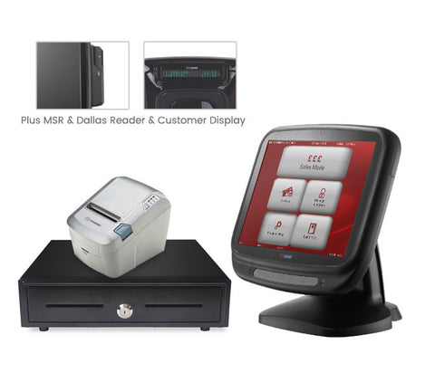 "*WEB ONLY DEAL* Anyshop 15"" complete EPOS system (with 2-line customer display)"