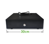EK-300 space saving 30cm cash drawer (3 note / 8 coin) 300 x 360 x 80mm