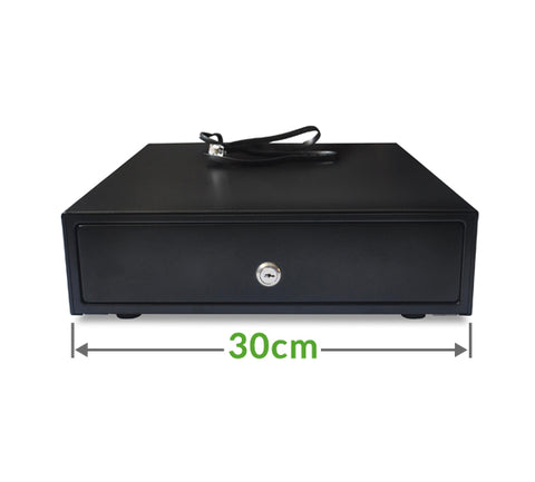 EK-300 small cash drawer (3 note / 8 coin) 300 x 360 x 80mm