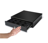 MK-350 Manual 35cm cash drawer (3 note / 8 coin) 350 x 405 x 90mm