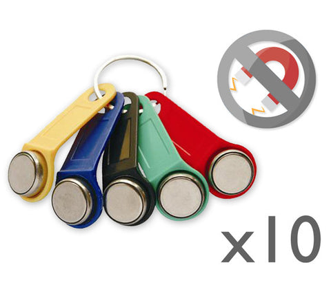 10x Non-magnetic Dallas key fob (iButton)