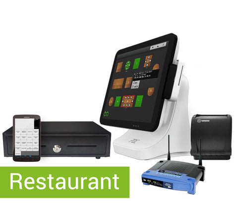 Complete restaurant EPOS system + handheld ordering