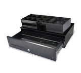 SK-500 Industrial strength slimline ball-bearing cash drawer (6 note / 8 coin) 495 x 305 x 125mm
