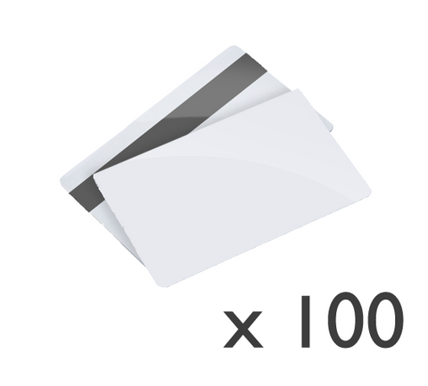 100x Blank and encoded customer loyalty cards (HICO)