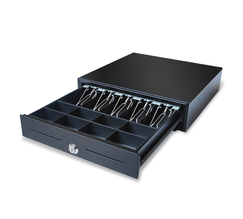 SK-460 Extra-large dimension heavy duty Sliding Cash Drawer (5 note / 8 coin) 460 x 460 x 100mm