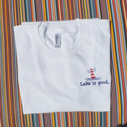 Lake is Good Men's Organic Cotton T-Shirt