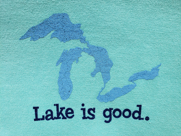 Lake is Good Ladies' Long-Sleeved Shirt