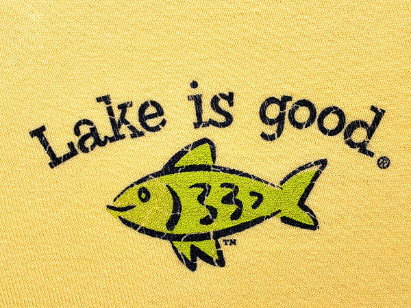 Lake is Good Youth Short-Sleeved Shirt