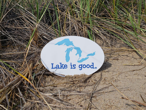 Lake is Good Decals with Great Lakes Design
