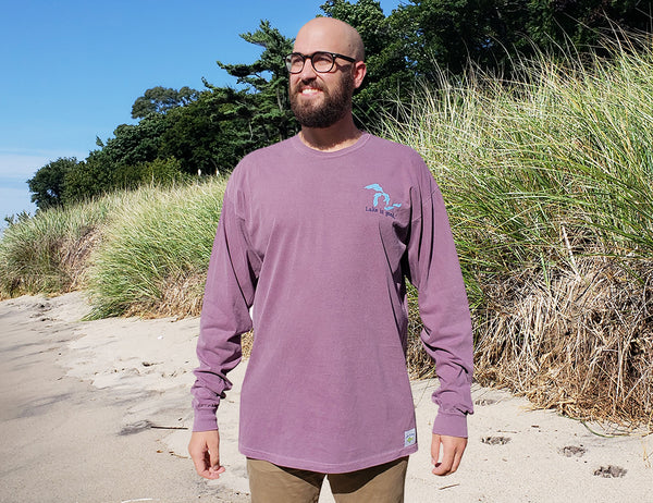 Lake is Good Men's Long-Sleeved Shirt