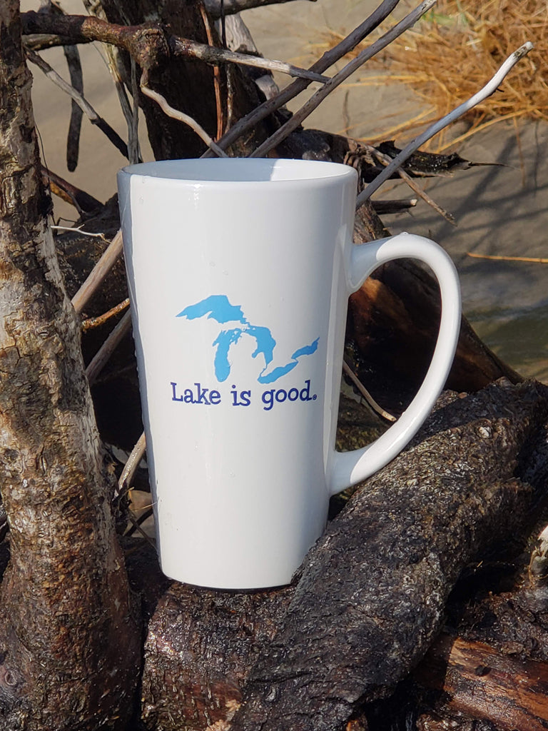 Lake is Good Latte Mug - Great Lakes Design