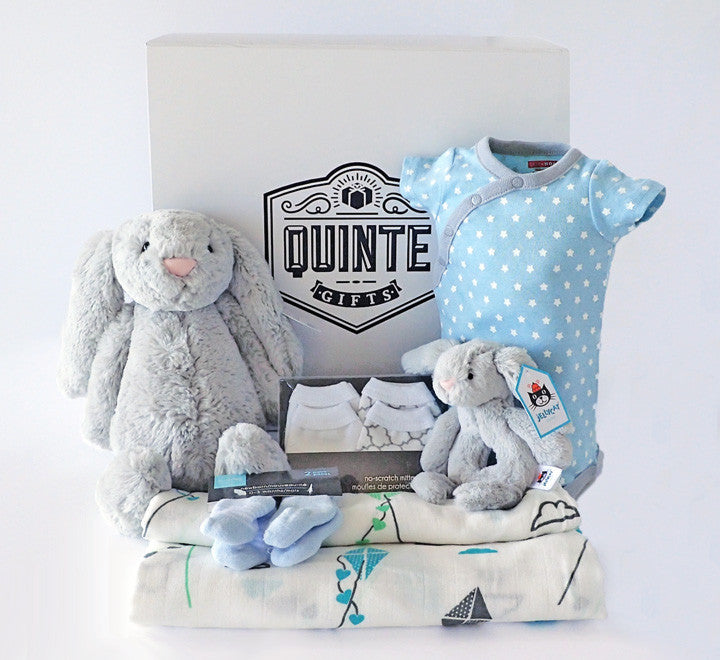 ca2f0e08c Baby River Gift Box - Complete Gift Set for New Babies (Boy