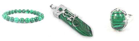 overcome lifes challenges with malachite