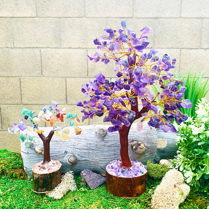 Amethyst Feng Shui Gemstone Tree - Large