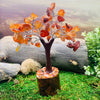 Feng Shui Gemstone Tree - Carnelian - Red Agate