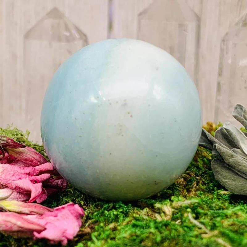 Crystal Ball - Amazonite Crystal Ball