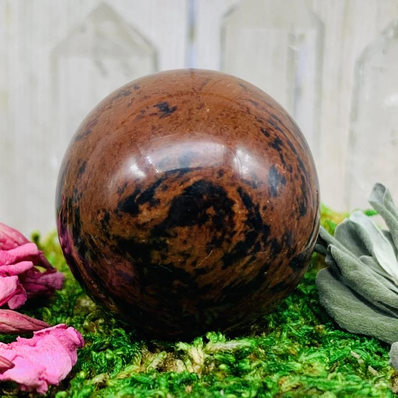 Crystal Ball - Mahogany Obsidian Crystal Ball