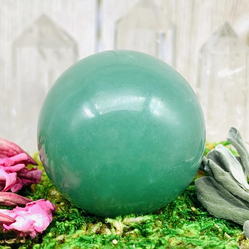 Crystal Ball - Aventurine Crystal Ball