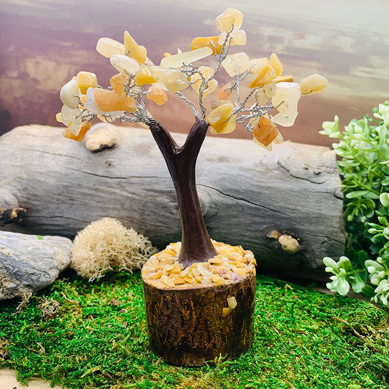 Feng Shui Gemstone Tree - Yellow Aventurine