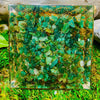 Abundance Luck Success Crystal Orgone Pyramid | Tiger Eye Green Aventurine Citrine