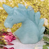 Amazonite Unicorn Carving