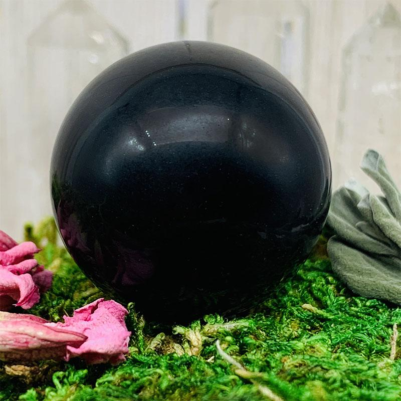 Crystal Ball - Black Obsidian Crystal Ball